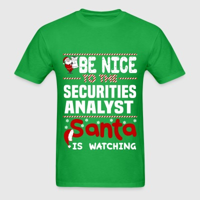 Securities Analyst - Men's T-Shirt