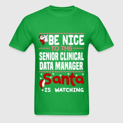Senior Clinical Data Manager - Men's T-Shirt