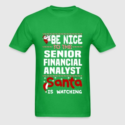 Senior Financial Analyst - Men's T-Shirt
