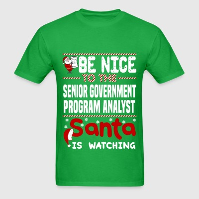 Senior Government Program Analyst - Men's T-Shirt
