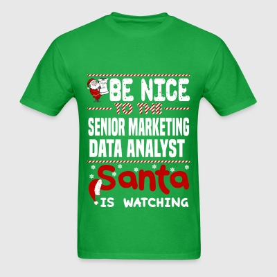 Senior Marketing Data Analyst - Men's T-Shirt