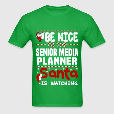 Senior Media Planner - Men's T-Shirt