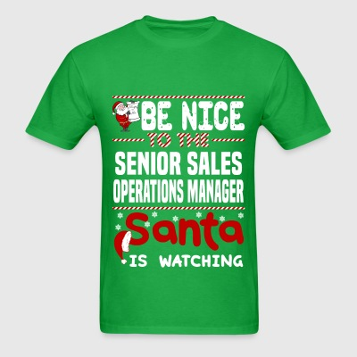 Senior Sales Operations Manager - Men's T-Shirt