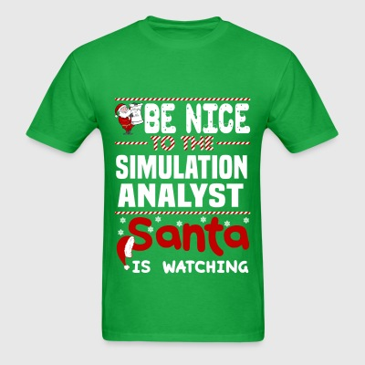 Simulation Analyst - Men's T-Shirt
