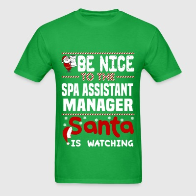 Spa Assistant Manager - Men's T-Shirt