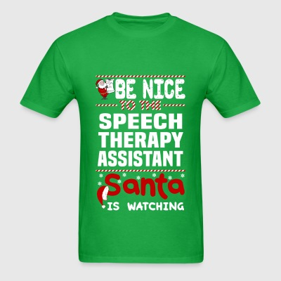 Speech Therapy Assistant - Men's T-Shirt