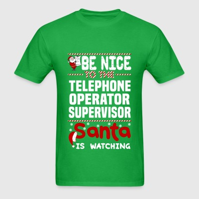 Telephone Operator Supervisor - Men's T-Shirt