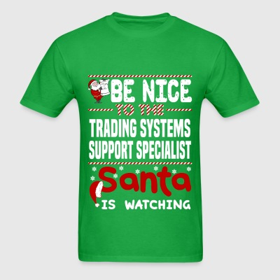 Trading Systems Support Specialist - Men's T-Shirt