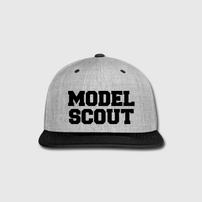 MODEL SCOUT Sportswear - Snap-back Baseball Cap