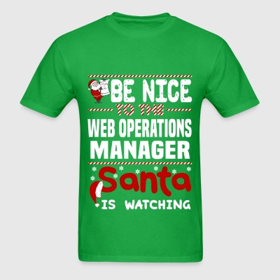 Web Operations Manager - Men's T-Shirt