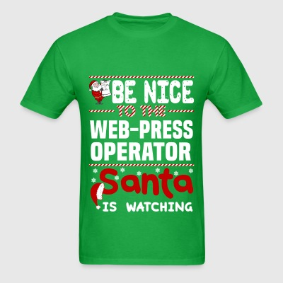 Web-Press Operator - Men's T-Shirt