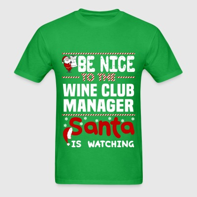 Wine Club Manager - Men's T-Shirt