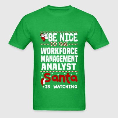 Workforce Management Analyst - Men's T-Shirt