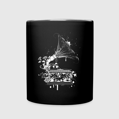 nostalgic Gramophone Mugs & Drinkware - Full Color Mug