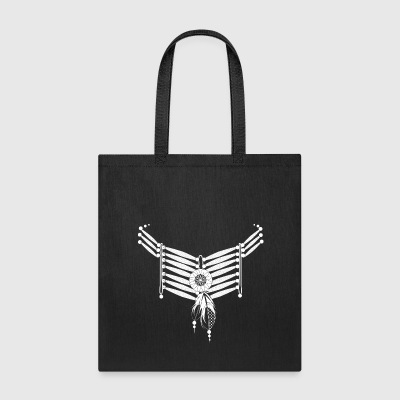 Indian necklace with feathers Bags & backpacks - Tote Bag
