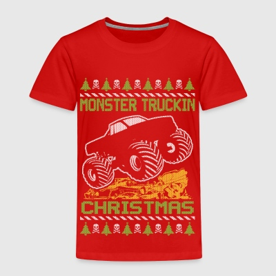Monster Truckin Holidays Baby & Toddler Shirts - Toddler Premium T-Shirt