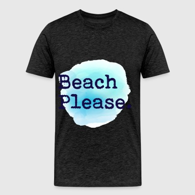 Swag - Beach please - Men's Premium T-Shirt