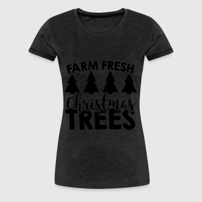 christmas farm - Women's Premium T-Shirt