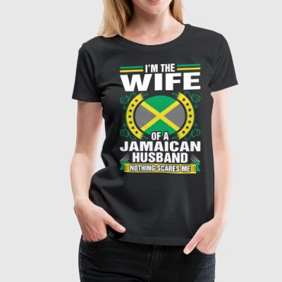 Im The Wife Of A Jamaican Husband T-Shirts - Women's Premium T-Shirt