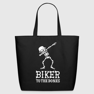 Dab dabbing biker to the bones Bags & backpacks - Eco-Friendly Cotton Tote
