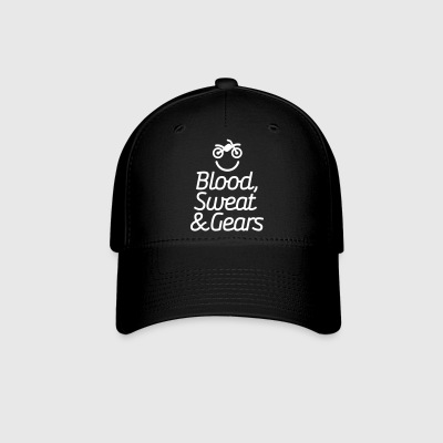 Blood sweat & gears -  Motocross - Motorcycle Sportswear - Baseball Cap