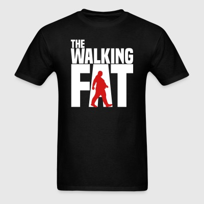 The walking fat - Zombie - obese - fat - gift T-Shirts - Men's T-Shirt