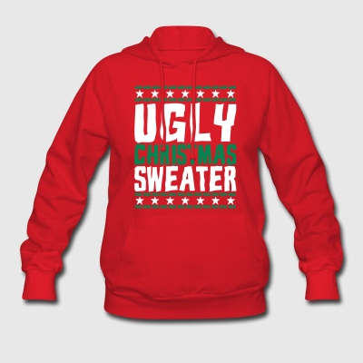 Ugly Christmas Sweater Hoodies - Women's Hoodie