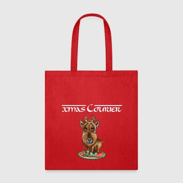 xmas courier bag reindeer - Tote Bag
