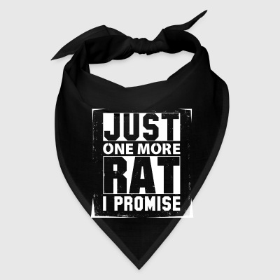 Just One More Rat I Promise Caps - Bandana