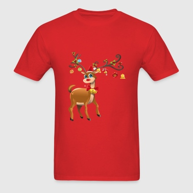 Reindeer - Men's T-Shirt