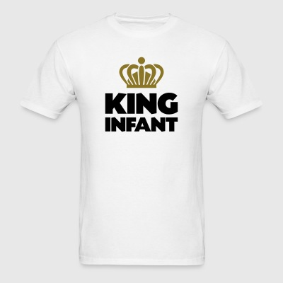 King infant name thing crown - Men's T-Shirt