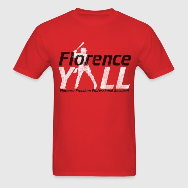 Red Florence Yall - Men's T-Shirt