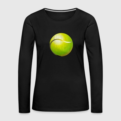 Tennis (ADD CUSTOM TEXT) - Women's Premium Long Sleeve T-Shirt