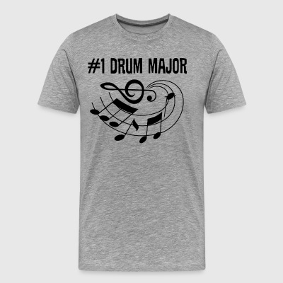 Drum Major Marching Band T-Shirts - Men's Premium T-Shirt