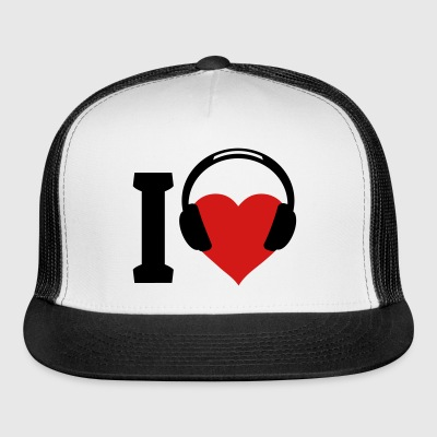 I love Music Sportswear - Trucker Cap