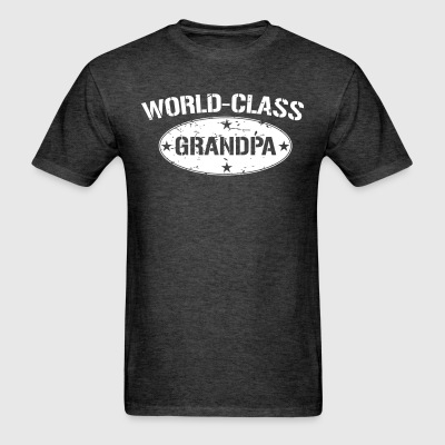 World-Class Grandpa grandfather's gift shirt - Men's T-Shirt