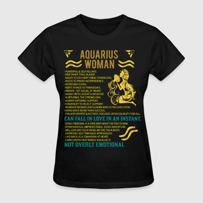Aquarius Woman T-Shirts - Women's T-Shirt