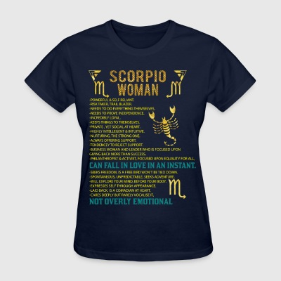 Scorpio Woman T-Shirts - Women's T-Shirt