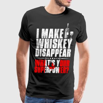 I Make Whiskey Disappear Canadian T-Shirts - Men's Premium T-Shirt