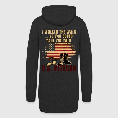 I walked the walk...so you could talk the talk. - Women's Hoodie Dress