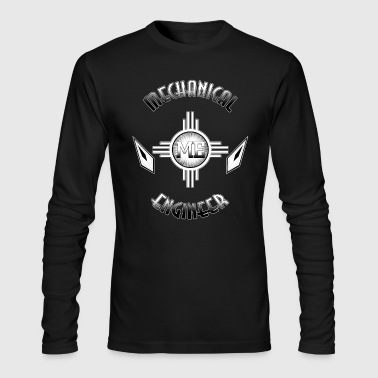Mechanical Engineer Retro - Men's Long Sleeve T-Shirt by Next Level