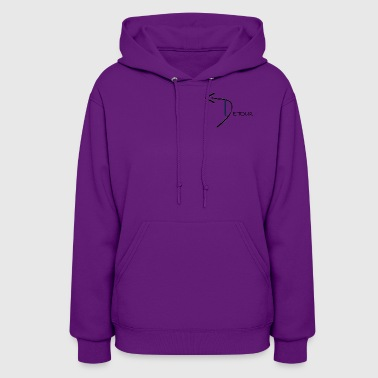 Womens Detour Hoodie (Front Only) - Women's Hoodie