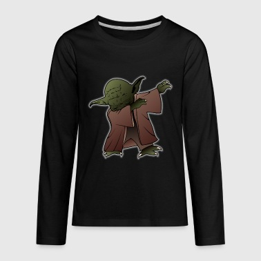 dab yoda - Kids' Premium Long Sleeve T-Shirt