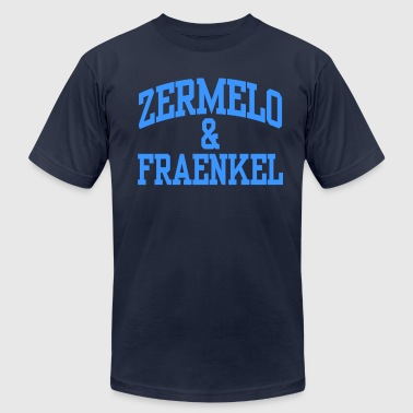 Zermelo & Fraenkel - mathematical swag - Men's T-Shirt by American Apparel