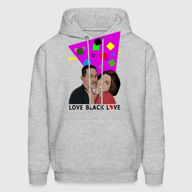 Martin & Gina Love Black Love Hoodies - Men's Hoodie