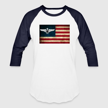 Flight USA Flag T-Shirts - Baseball T-Shirt