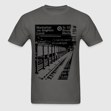 NYC Subway  T-Shirts - Men's T-Shirt