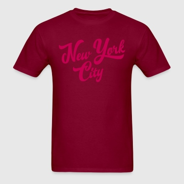New York Handwritting T-Shirts - Men's T-Shirt
