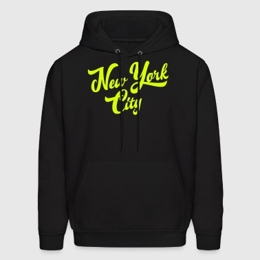 New York Handwritting Hoodies - Men's Hoodie