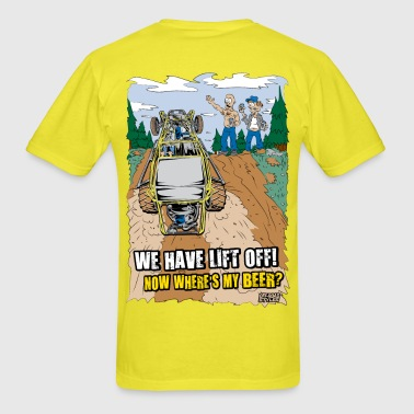 Beer Buggy Lift Off T-Shirts - Men's T-Shirt